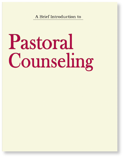 introduction to pastoral counseling An introduction to pastoral counseling nashville: broadview press, 1959 4 stafford jw pastoral counseling in: weitzel ej (ed) contemporary pastoral.