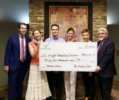 The Healing Trust Awards $35,000 In Support Of Insight's Mission