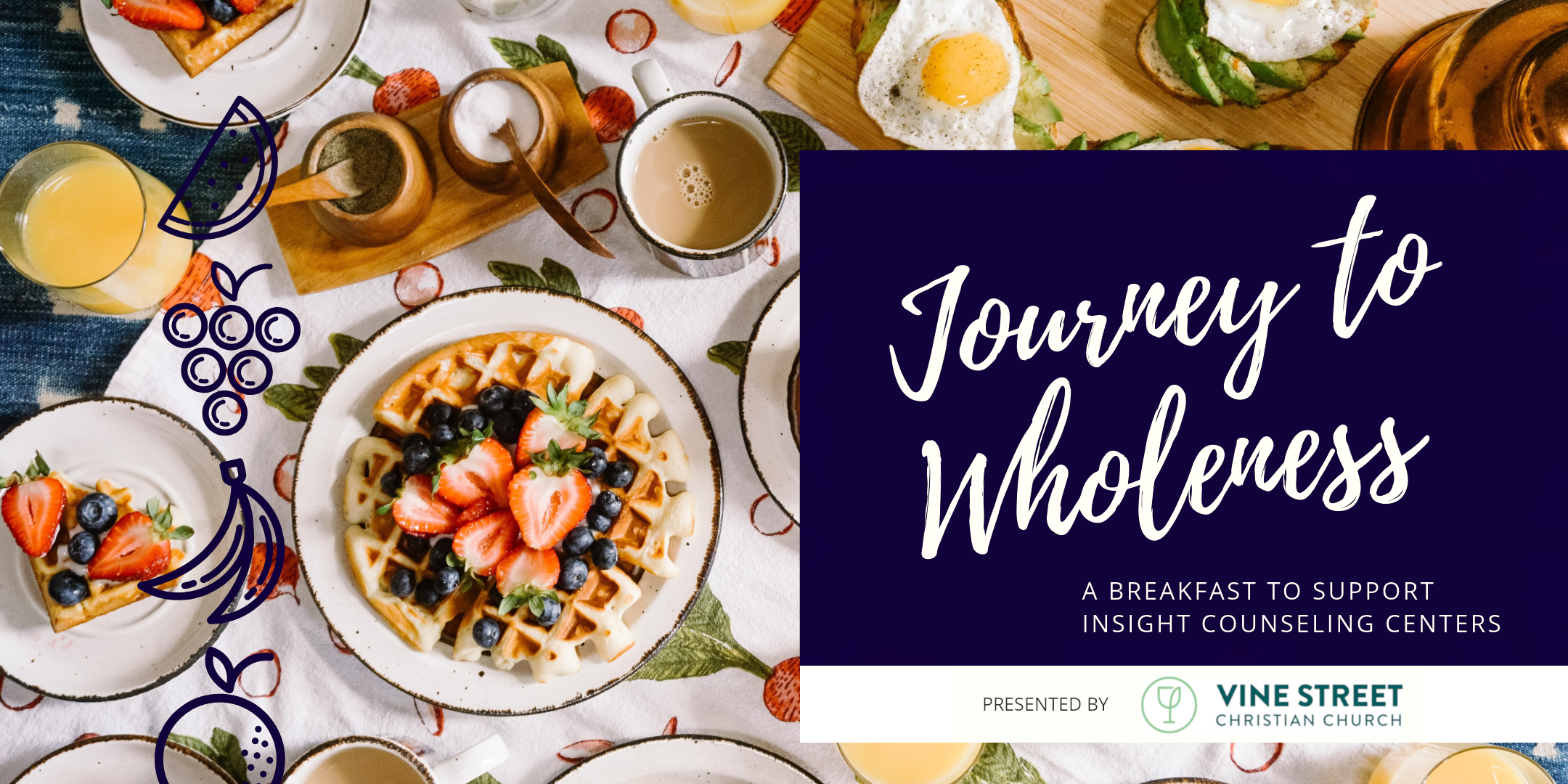 Journey to Wholeness: A Breakfast to Support Insight Counseling Centers, presented by Vine Street Christian Church