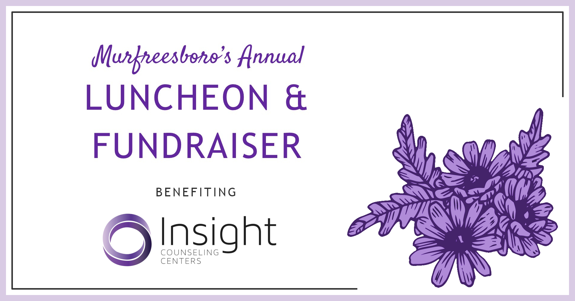 Murfreesboro's Annual Luncheon & Fundraiser On August 15, 2019